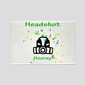 Halo Grunt Headshot Rectangle Magnet